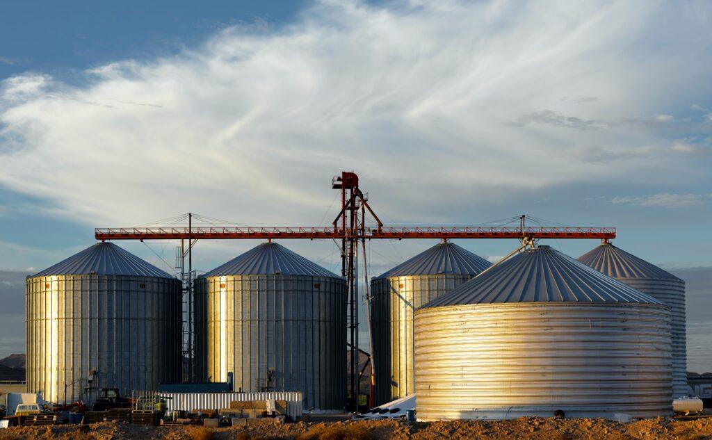 Silos in agricoltura