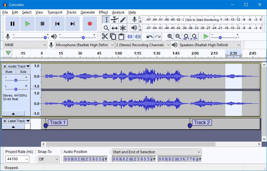 Come fare un podcast con Audacity