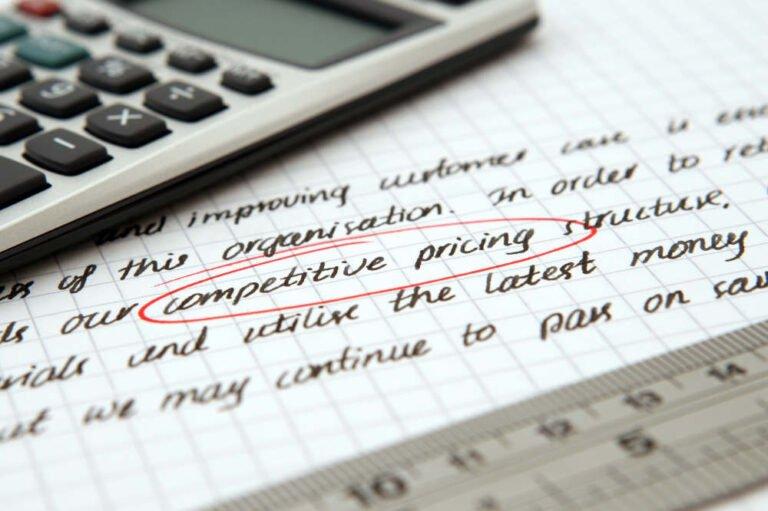 Servizi Web Competitive Pricing