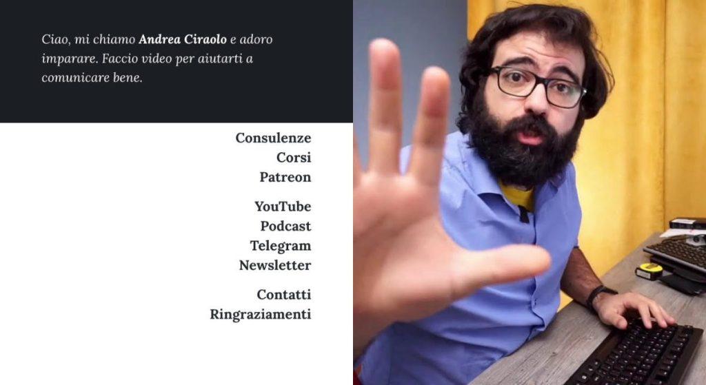 Monetizzare un blog - Andrea Ciraolo
