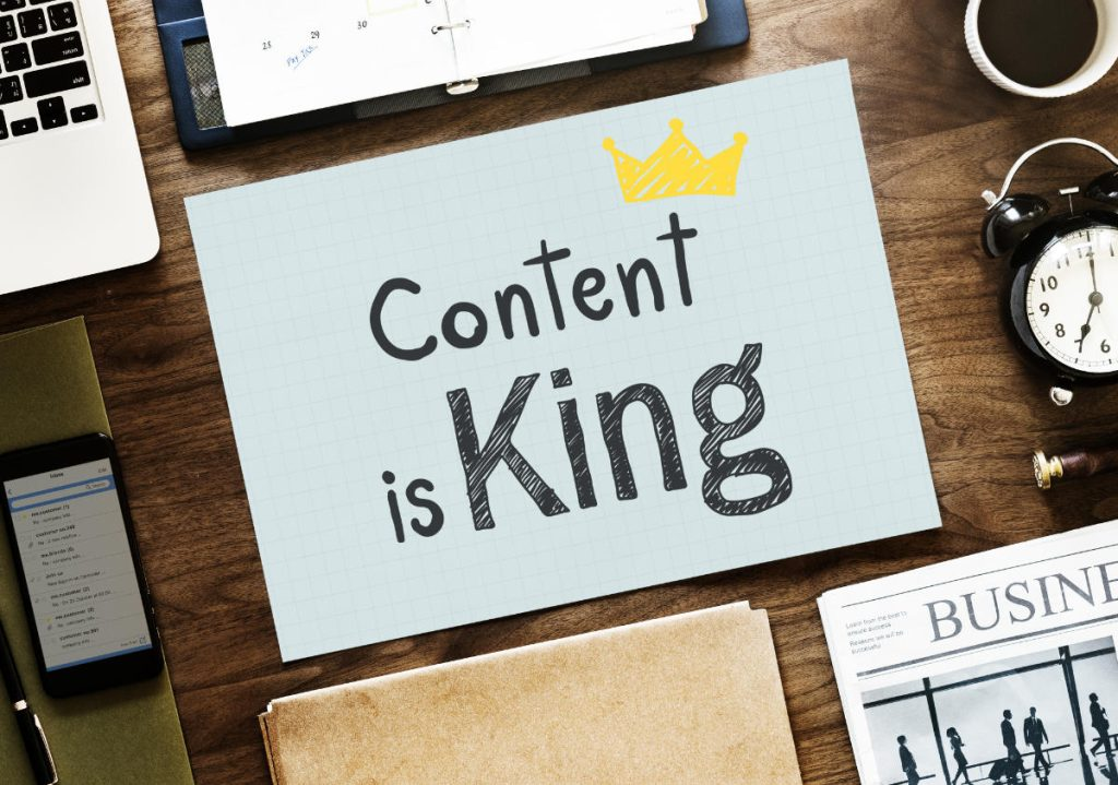 Content writing vs copywriting content is king