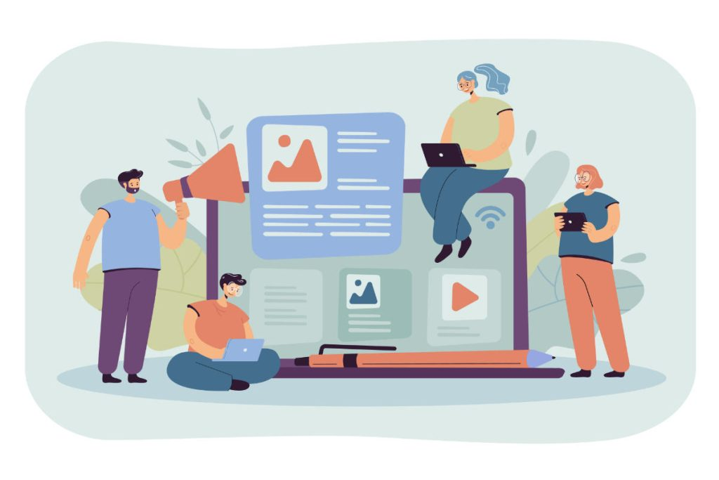 Content writing vs copywriting: autori