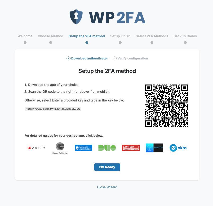 autenticazione a due fattori collegare app