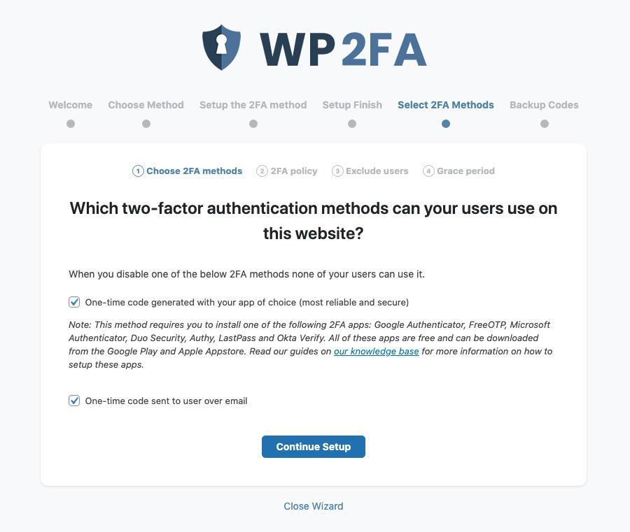 autenticazione a due fattori metodo utilizzato