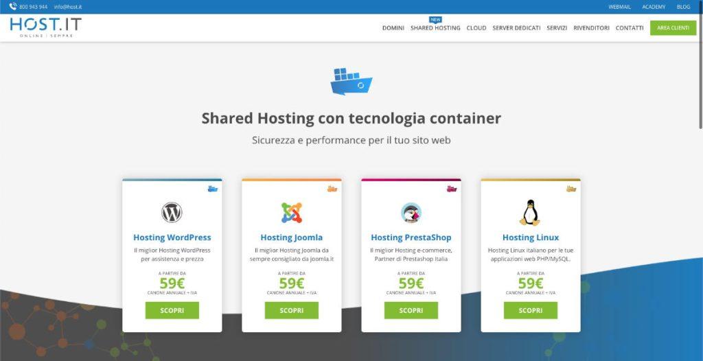 shared hosting host-it