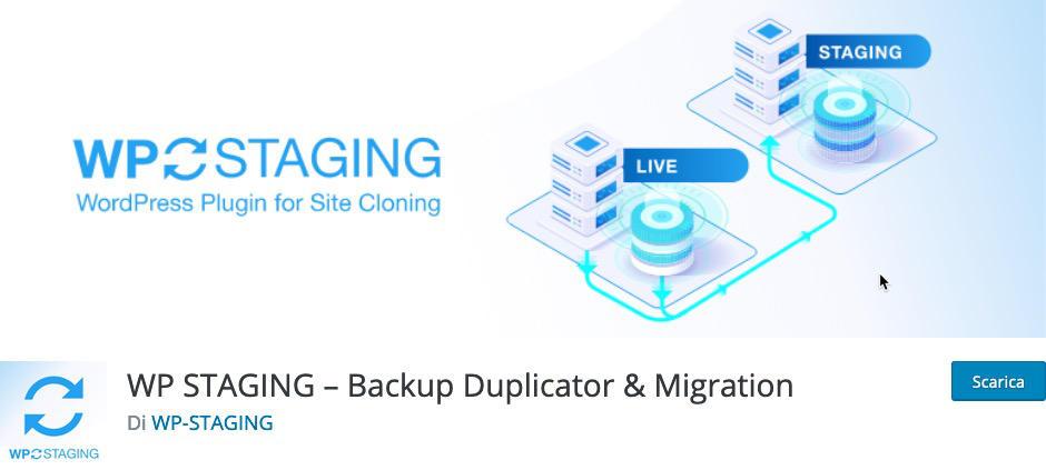Staging in WordPress Plugin WP Staging